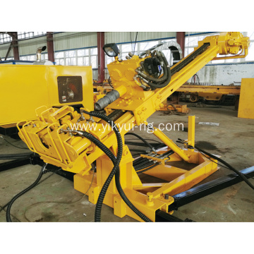 75KW Engine/Motor Water-air Hydraulic Crawler Anchoring Rig