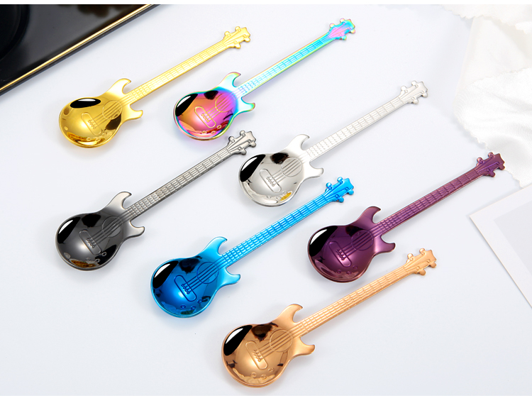 Guitar Shaped Spoon
