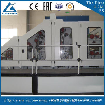 highly stable ALSL-2000 nonwoven carding machine cotton wool carding machine