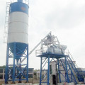 Stationary ready mix HZS75 concrete batching plant