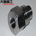Precision Hardened steel mechanical components cnc machining