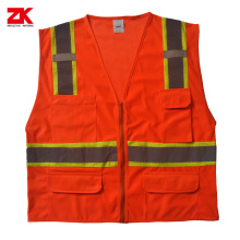 Mesh fabric High visible safety clothes