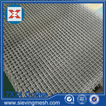 Carbon Steel Crimped Mesh