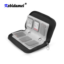 kebidumei Memory Card Cases SDHC MMC CF For Memory Card Storage bag Carrying Pouch Box Protector for Memory card Micro SD Card