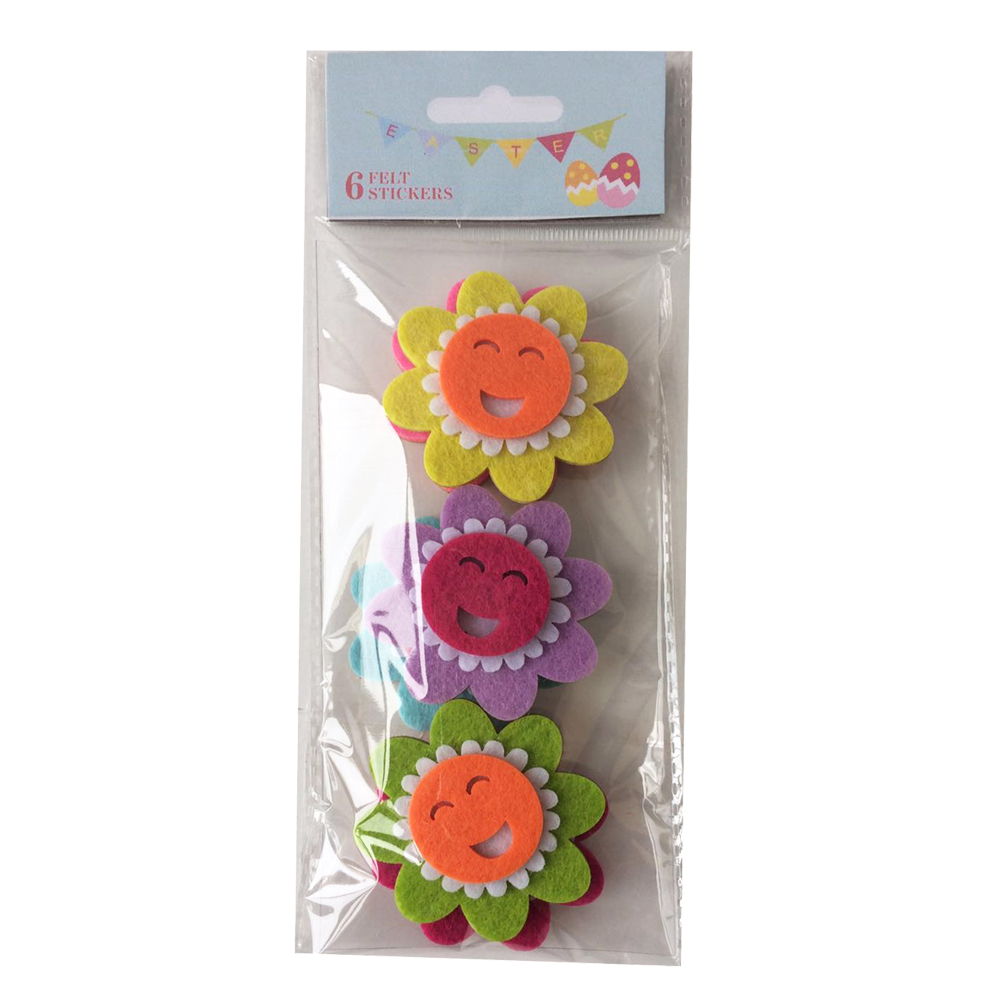 Easter Colourful Sunflower Sticker