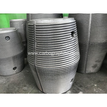 4 T4L Nipples UHP 400 Graphite Electrode