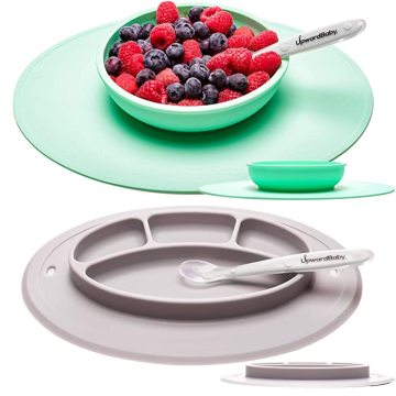 Custom Silicone Suction Baby Plates and Bowls Set