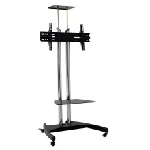 TV mobile cart for display up to 65 inch