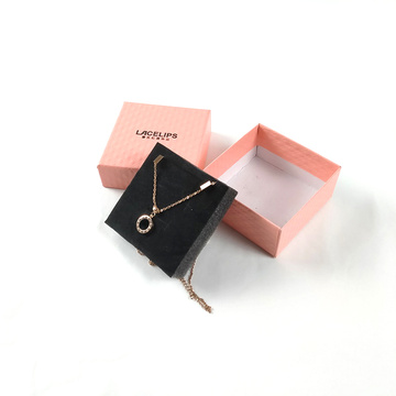 Small square gift necklace box for necklace jewelry