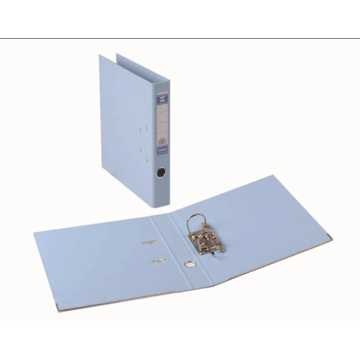 Durable plastic 2-hole binder for office