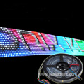 DMX Programmable RGB LED pixel strip waterproof