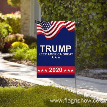 Custom Printing  Cheap Trump President Garden Flag