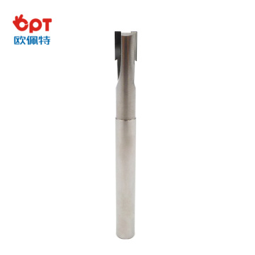 PCD t-slot slotting end mill machine cutter