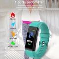 115 Plus Smart Watch Wristband Blood Pressure Smart Bracelet With Strap Fitness Tracker Heart Rate Monitor Smartwatch Men Women