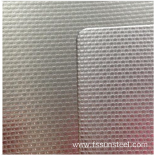 Stainless steel embossed sheets 304