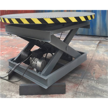Customized Hydraulic Rotating Stage Scissor Lift