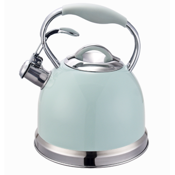 Aluminum formed capsule bottom top sell kettle