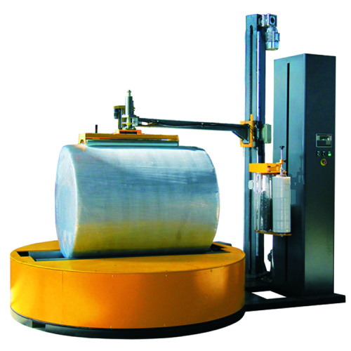 Paper Roll Cylindrical Stretch Film Wrapping Machine