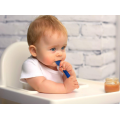 Led Weaning Teether Soft Tip Silicone Baby Spoon