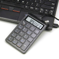 Wired Numeric Keypad and Calculator 2-in-1, Number Pad Keyboard with 12-Digit LCD Display for PC, Laptop