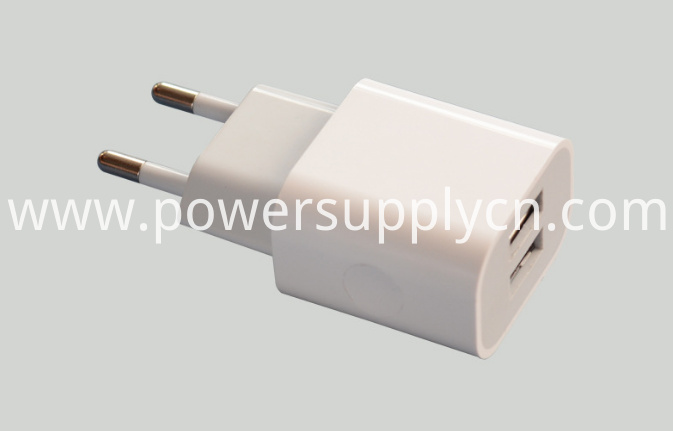 5V2.1A Dual USB Phone Travel Charger