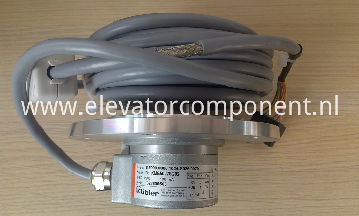 KONE Lift Encoder KM950278G02, with 7m cable