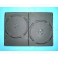 Long DVD storage case;long dvd storage box long dvd storage cover 7mm double black(YP-D806Ha)