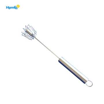 Easy Hand Push Stainless Steel Whisk