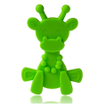 Natural Silicone Rubber Giraffe Teething Toy Sore Gums