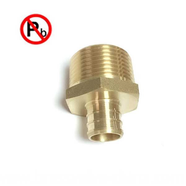 Nsf Low Lead Brass Pex Fitting
