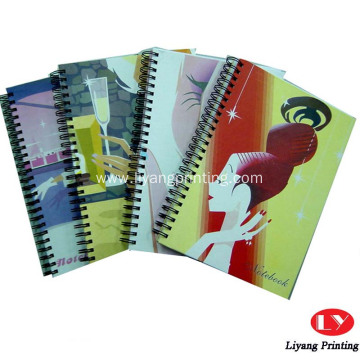 Custom printed paper softcover notebook printing