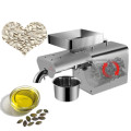 Stainless steel automatic small seeds oil extractor cold hot sesame oil pressed expeller peanut soybean oil press maker