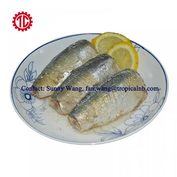 Tin Packed Canned Sardine Fish In Vegetable Oil 125g