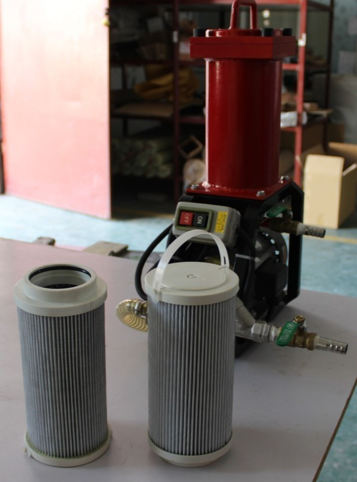 Filter cartridges & LYC-B Type Portable Oil Purifier