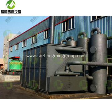 Pyrolysis of  PMMA Recycling Process Code