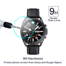 Clear Film Tempered Glass Screen Protector for Samsung Galaxy Watch 3 45mm 41mm Smart Watch Band Strap Accessories Cover