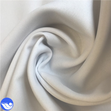 High quality 100% polyester Mini matt white fabric