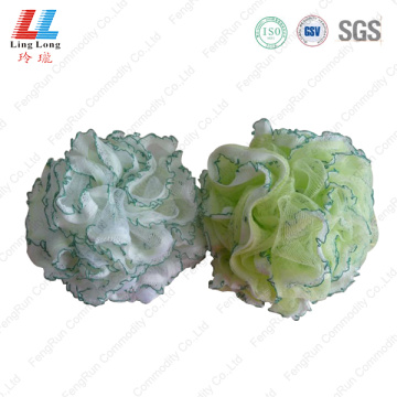 Lace mesh combination sponge ball