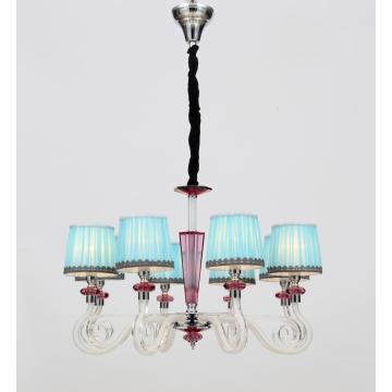 Modern Elegant Bedroom Decoration Glass Chandelier