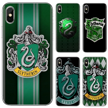For Huawei P8 P9 P10 P20 P30 P Smart 2019 Honor Mate 9 10 20 8X 7A 7C Pro Lite Silicone Shell Case House Slytherin Logo Poster