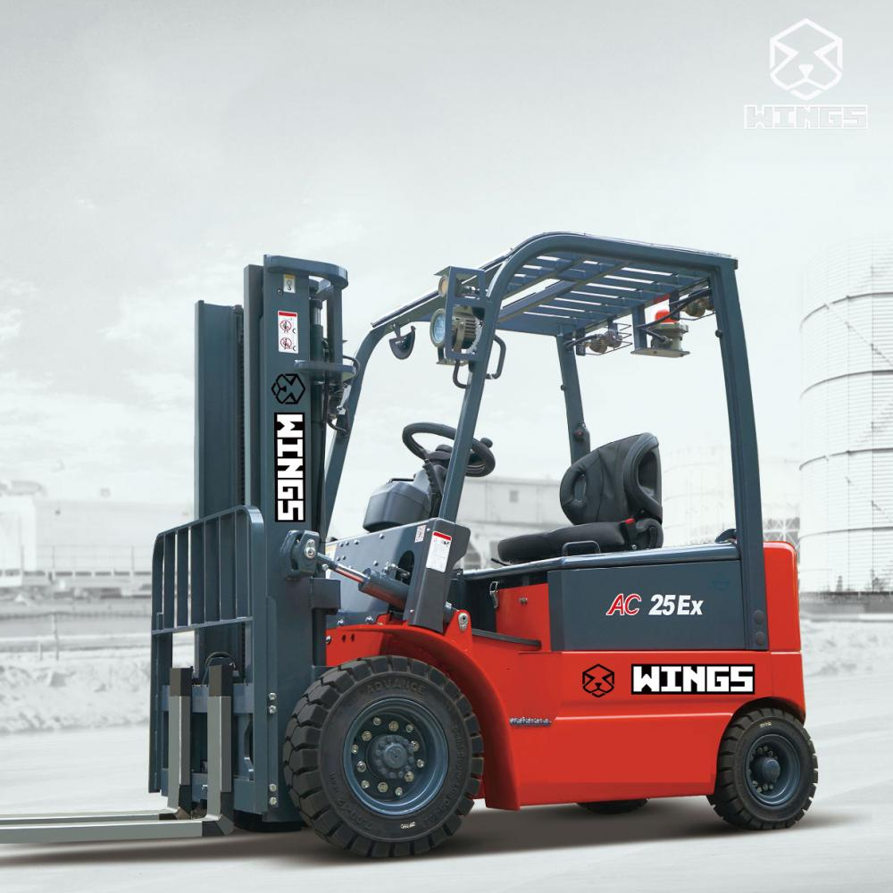 Explosion Proof Electric Forklift 1 1 5tons