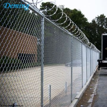 American Chain Link mesh with Galvanized Wire