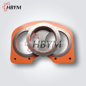 Hydraulic Concrete Pump Parts Wear Plate Cut Ring