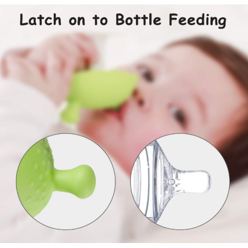 Food Grade Silicone Baby Mushroom Teether Toy