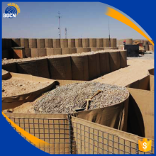 hot dipped galvanized wire welded sand filled hesco type barrier