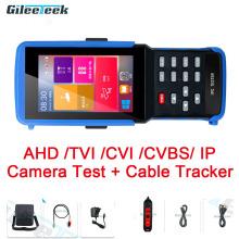 IPC-9310S H.265 4K IP CCTV Tester Monitor AHD CVI TVI Analog CVBS Camera Tester with cable tracker/ WIFI/ Rapid ONVIF /12V3A POE