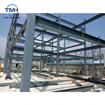 Top Quality Galvanized C Steel Workshop Structures