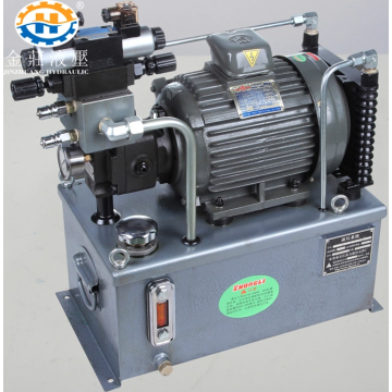 High-efficiency hydraulic station system