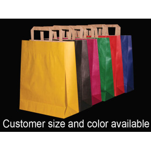 Colored Paper Gift Bags Wholesale