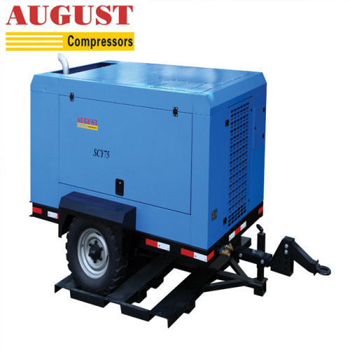 AUGUST 37KW 50HP portable air compressor 12 volt